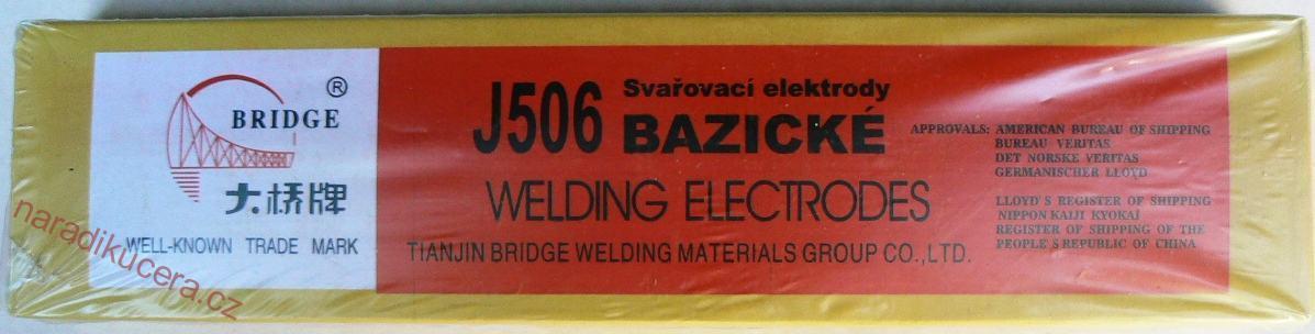 Fotografie Elektrody MAGG bazické J506/3,2 - 5,0 kg