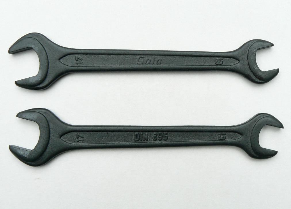 Fotografie Klíč otevřený matic. Gola 16x18 č.711618