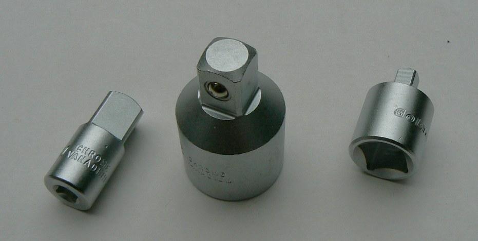 """Adapter Gola 1/2"""" čtyřhr. vnější x 3/8"""" čtyřhr. vnitřní č.303002"""
