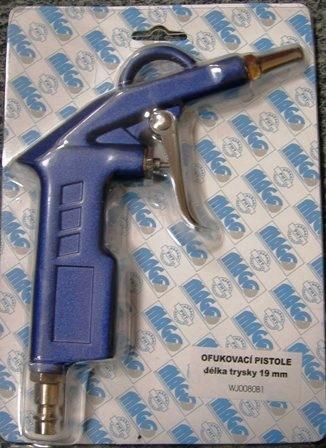 Ofukovací pistole, délka trysky 19mm WJ0080B1