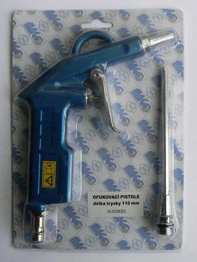 Ofukovací pistole, délka trysky 110mm WJ0080B2