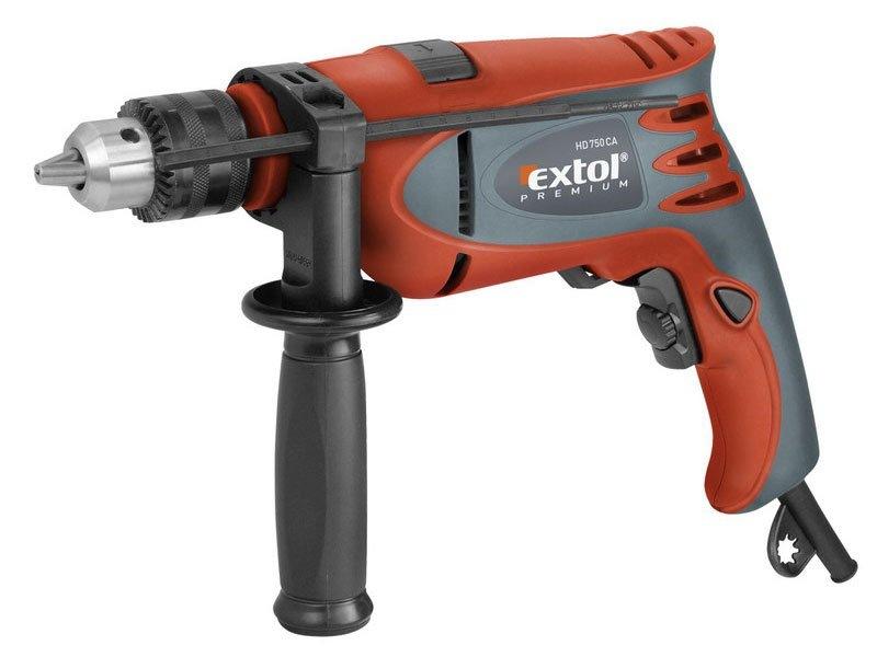 Vrtačka příklepová HD 750 CA Extol Premium č. 8890012