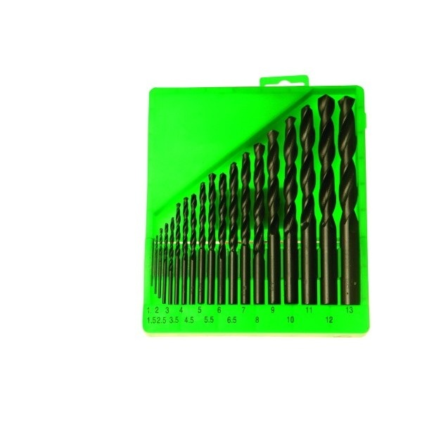 Sada vrtáků do kovu 19díl. 1-13mm č.20310 Festa