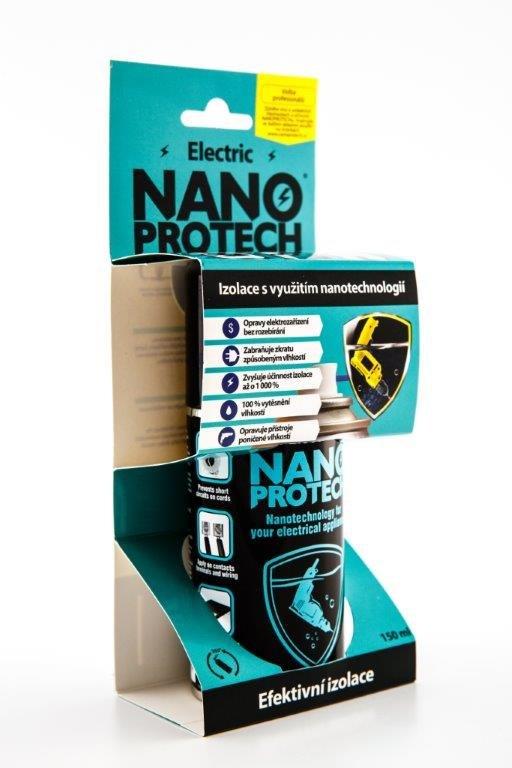 Fotografie NANOPROTECH Electric sprej 150 ml