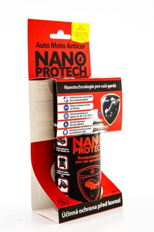 Fotografie NANOPROTECH Auto Moto Anticor sprej 150 ml