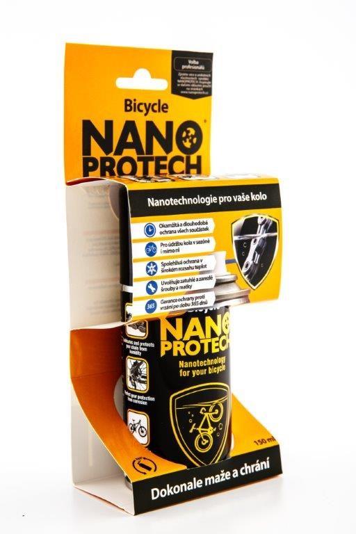 Fotografie NANOPROTECH Bicycle sprej 150 ml