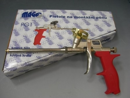 Fotografie Pistole na montážní pěnu PG1