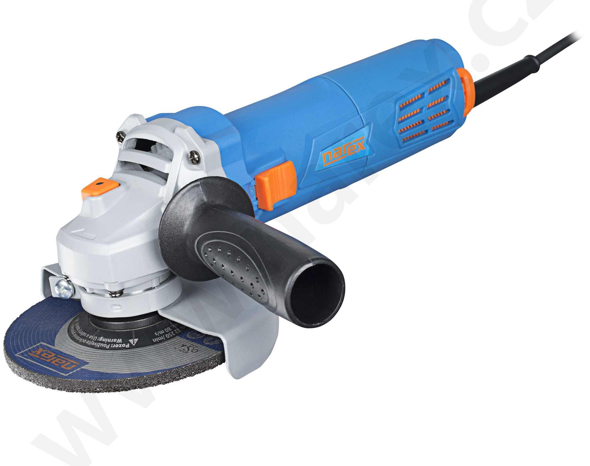 Elektrická bruska úhlová Narex EBU 125-6 č. 65404344