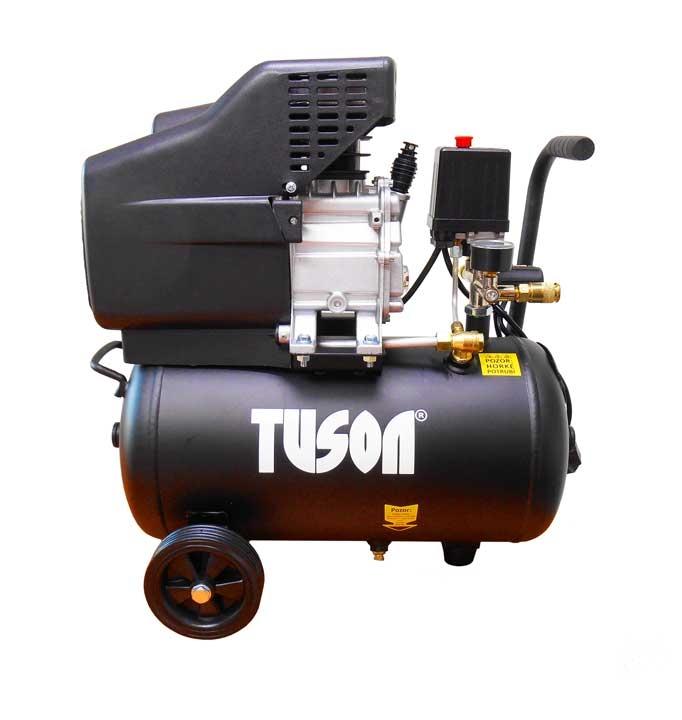 TUSON - olejový kompresor 1,5kW; 2,0HP; 24l